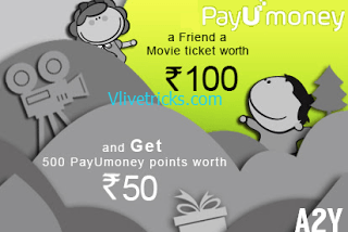 Free 100 rs Movie Voucher By Payumoney + Refer & Earn Unlimited (150rs per)