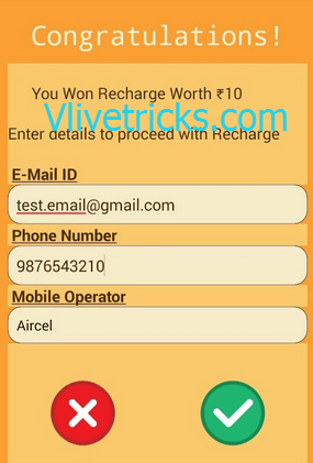 Earn Free Recharge for Playing Games Leaf Off App Android