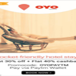 Oyo Rooms Coupons -Free 500 Oyo Money, Refer Earn Paytm Cash