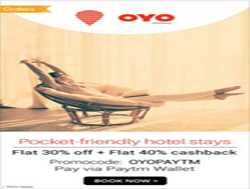 Oyo Rooms Coupons & Promo Codes -50% Cashback Till 30th Sep 2017