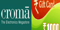 Steps to Get Free E Gift Voucher Worth Rs 1000 Of CromaRetail