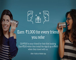 MakemyTrip Loot :500 rs Welcome Bonus & Earn Up to 1000 rs Per Refer
