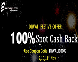 Basethings Diwali Loot : 100% Cashback Spot Sale (9,10,11) Started Today