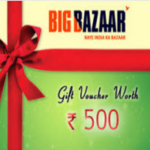 Big Bazaar Free Fashion Shopping Worth ₹200 Off on ₹500 via Misscall