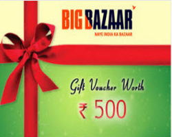 Nearbuy Big Bazaar Offer -Get Rs 500 & Rs 1000 Voucher at 50% Off