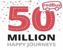Redbus Signup Bonus Offers Loot -Free Rs. 50+Rs. 250 Off on Bus Booking