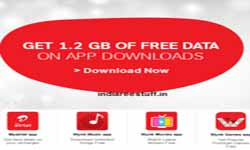 Airtel free data trick : Free 1.2 GB 3g 4g Data on Downloading 4 Apps