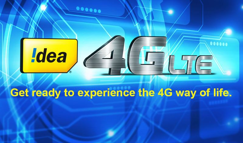 Idea 4g Plans & Offers 2017 For Prepaid & Postpaid (Unlimited Packs Added)