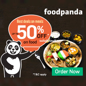 Foodpanda Promo Code ,Coupons Apr 2018 Rs 100 Off on Rs 300