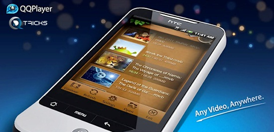 qq video player for android mobile