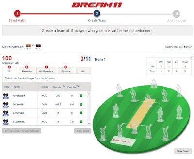 dream11 fantasy