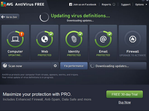 how to get avg free antivirus