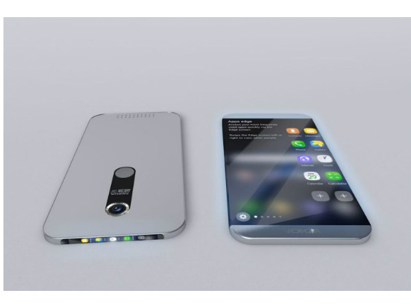 nokia edge rear camer and fingerprint scanner image