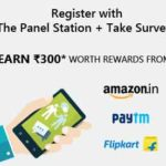 (Trick) Get Rs.300 Free Paytm Cash by Fill Short, Panel Station Surveys
