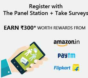 (Daily Loot) Panel Station Survey,Tricks -Earn Free Rs. 300+ Paytm Cash/Amazon