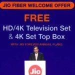 How to Get Free 4K Hd Tv, Smart Set Top Box With Jio Fiber?
