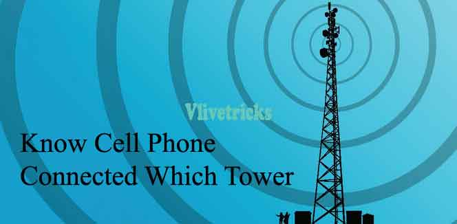 know cell phone connected which tower