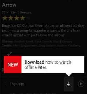 netlfix-offline-download option