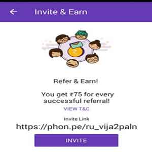 phonepe-refer-&-Earn offer