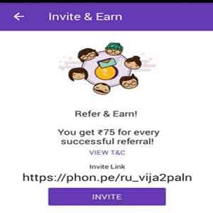 phonepe-refer-&-Earn offer