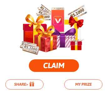 how to claim vidmate diwali offer prize