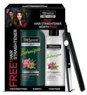 Get Free Amazon Hair Straightener With TreSemme Shampoo at Rs.540 Only