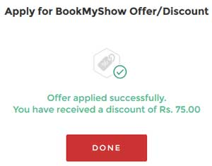 bookmyshow code apply