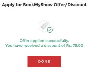 bookmyshow code apply