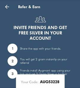 augmont-refer-and-earn
