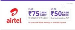 phonpe airtel free rs.50 recharge offer
