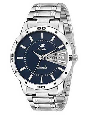 (Loot Deal) Amazon -Buy Espoir Analogue Blue Dial Men Watch at ₹379