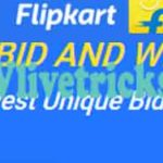 Flipkart Bid & Win Contest -Get Free Products by Biding Unique Number