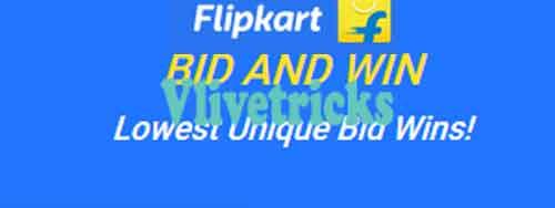 flipkart bid and win