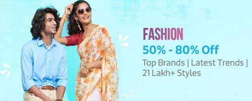 flipkart-fashion products offers