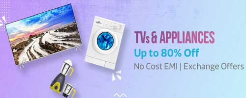 flipkart tv and Appliances