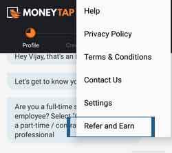 moneytap-menu