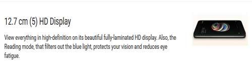redmi-5a-display