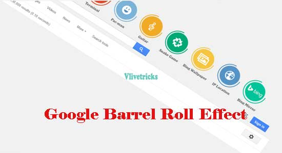 google do barell roll