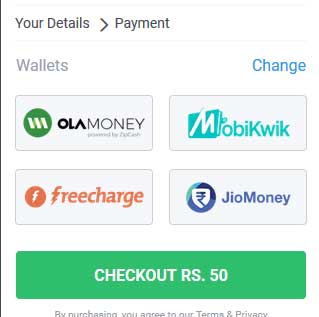 2 Ways to Transfer Ola Money/Freecharge Cashback to Bank