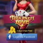 (Loot Trick) Teen Patti Love -Refer & Earn Free Flipkart Vouchers,Chips