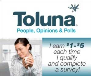 toluna quick survey earn money