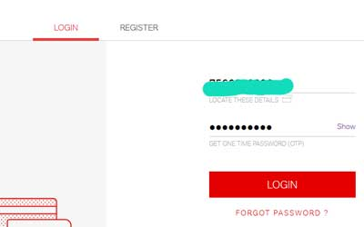 airtel self care login page