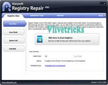 Glarysoft Registry Repair