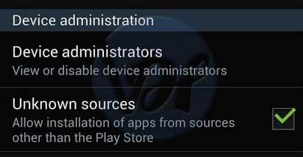 unknown sources app installation