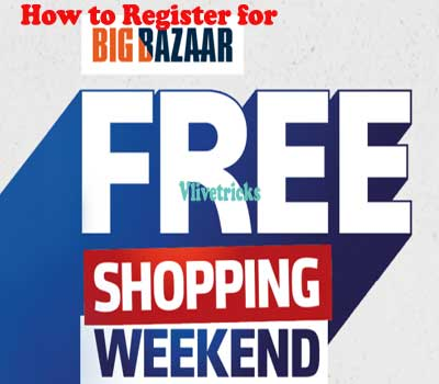 Big Bazaar Free Shopping