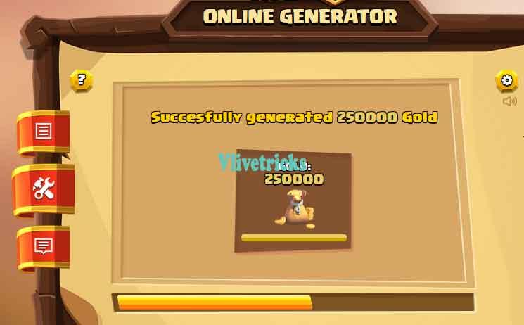 clash-online-generator gems process