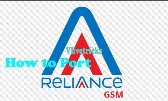 Port Reliance GSM Sim