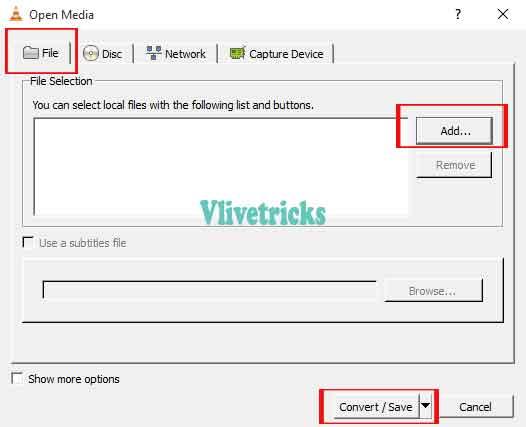 vlc-convert-add-file