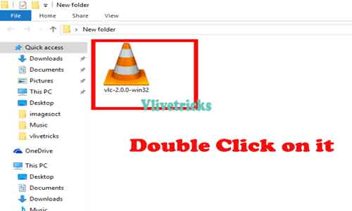 vlc installation file
