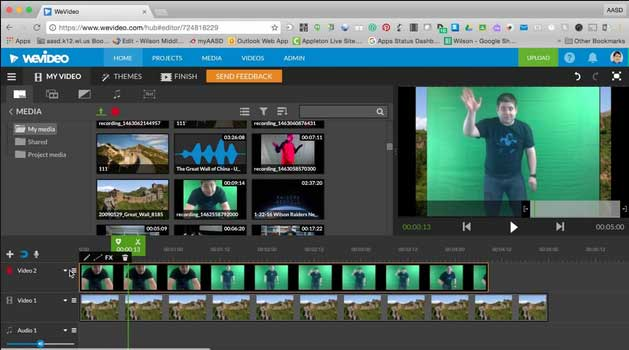 wevideo online video editor